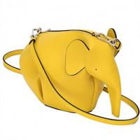 罗意威Loewe 黄色大象单肩包