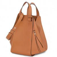 罗意威Loewe 棕褐色个性手提包