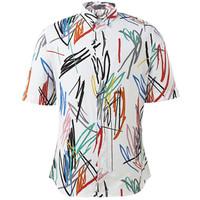 迪奥Dior 春夏新款男士短袖衬衫