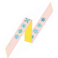 迪奥Dior 蓝MITZAH粉红色丝巾