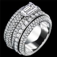 伯爵(Piaget)白金钻石指环