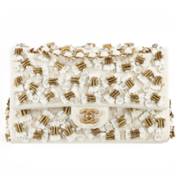 香奈儿Chanel JERSEY针织面料口盖包