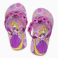 迪士尼 Disney Rapunzel紫色人字拖