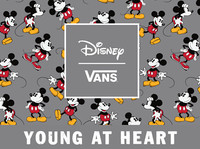 Young at Heart Disney And Vans合作系列即将上市