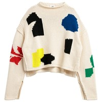 H&M 女士棉质针织套衫