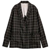 H&M 女士格纹外套