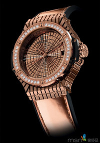 宇舶表2013巴塞尔新品 BIG BANG鱼子酱镶钻腕表