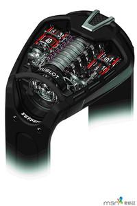 2013巴塞尔表展预览:宇舶MP05 LaFerrari动力储存腕表