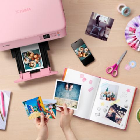 趣印多彩生活 佳能公布4款腾彩PIXMA喷墨打印机新品
