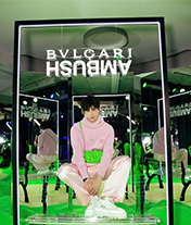 鐘楚曦、周雨彤等時髦女明星都紛紛穿上了綠色